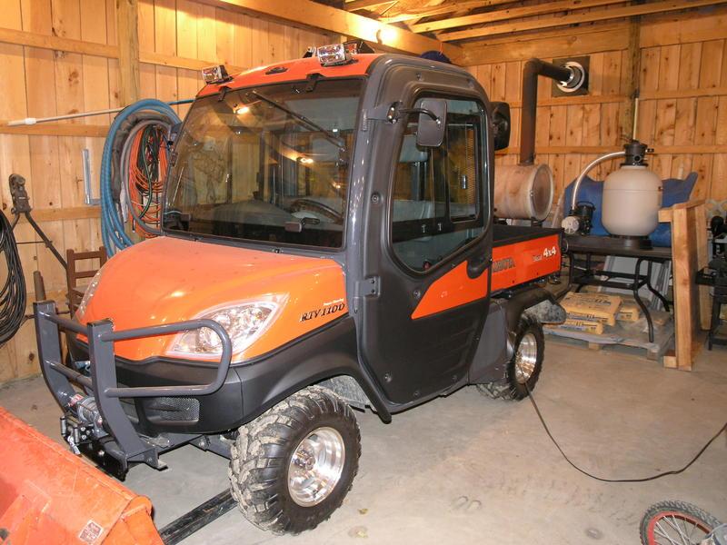 Kubota Tractor Rear View Mirror : F s kubota rtv in parker pennsylvania net